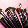 Cosmetic brushes — Stock Photo #7361865