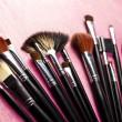 Cosmetic brushes — Stock Photo