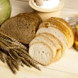 Stock Photo: Compositions bread