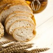 Compositions bread — Stock Photo