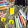 Education Concept, Back to school — Foto de Stock
