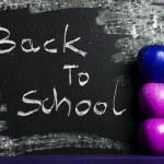 Alphabet, back to school — Stock Photo #7369875