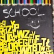 Alphabet,  back to school — Stockfoto