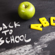Alphabet, back to school — Stock Photo