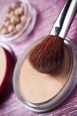 Professional make up powder — Stock Photo