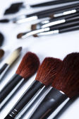 Paintbrushes to make up — Stock Photo