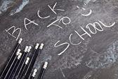 Concetto di educazione, torna a scuola — Foto Stock