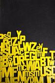 Школа, алфавит, буквы — Стоковое фото