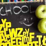 Alphabet, back to school — Stock Photo #7370033