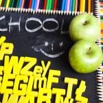 Alphabet, back to school — Stock Photo #7370097