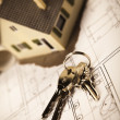 Stock Photo: Home Key