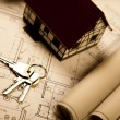 House blueprints — Stock Photo #7371639