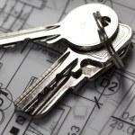 House Planning, key — Stock Photo #7372105