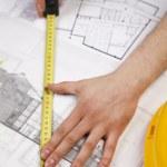 Architect Working — Stock Photo