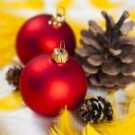 Christmas Tree Baubles — Stock Photo #7377084