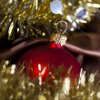 Christmas Tree Baubles — Stock Photo