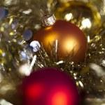 Christmas Tree Baubles — Stock Photo #7377171