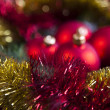Christmas Tree Baubles — Stock Photo