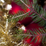 Christmas Tree Bauble — Stock Photo #7377419