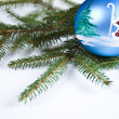 Christmas Tree Bauble — Stock Photo