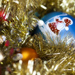 Baubles and Christmas — Stockfoto