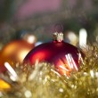 Christmas tree, spruce, baubles  — Stock Photo