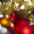 Shiny Baubles and Christmas — Stock Photo