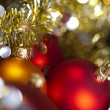 Shiny Baubles and Christmas — Stock Photo #7378833