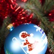 Bauble, Xmas background — Stock Photo #7379333