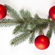 Traditional Christmas Baubles — Stock Photo #7379600