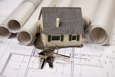 Building Home — Stock Photo