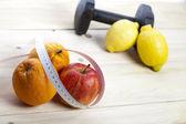 Fitness diet — Stock Photo