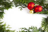 Frame made from Christmas — Stock Photo