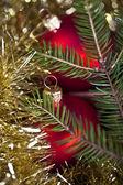 Christmas Tree Bauble — Stock Photo
