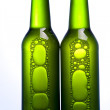 Green bottle of beer — Stock Photo #7385466