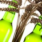 Green bottle of beer — Stock Photo #7385501