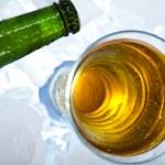 Bottle of beer — Stock Photo #7386135