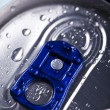 Stock Photo: Aluminum beverage can, tin