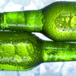 Green bottle of beer — Stock Photo #7388728