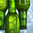 Green bottle of beer — Stock Photo #7388799