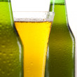 Beer bottle and glass — Stock Photo #7390543
