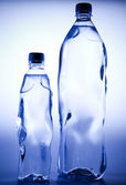 Water bottle background — Stock Photo