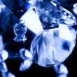 Diamonds  background — Stock Photo