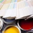 Paint and brush, Home decoration — Stock Photo #7404742