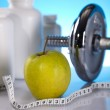 Weight loss, fitnes — Stock Photo #7409517