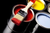 Painting time — Stock Photo