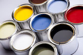 Tempo de pintura — Fotografia Stock