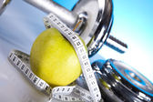 Weight loss, fitnes — Stock Photo