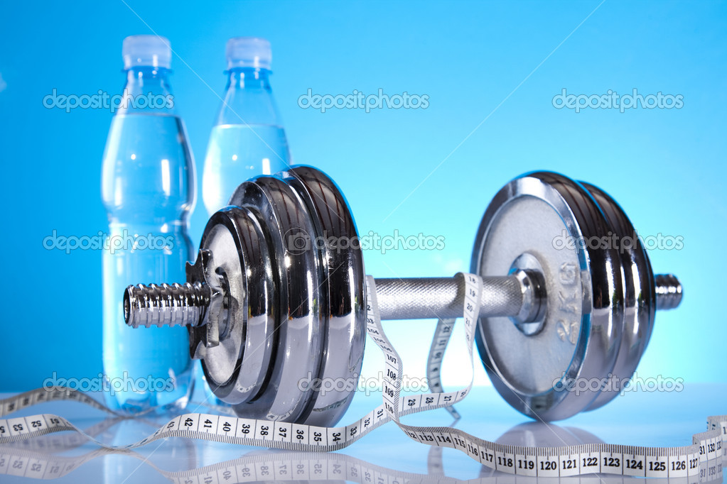 Fitness background. — Stock Photo #7409285