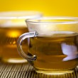Green tea cup — Stock Photo #7412078